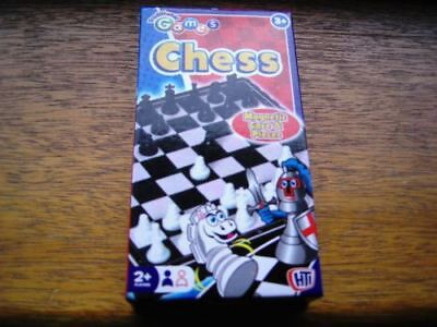 Mini Magnetic Game Chess Great For Traveling Stop Boredom Outdoor For Kids New