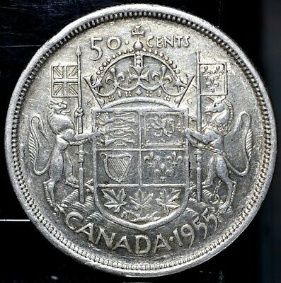 1955 Canada 50 Cents