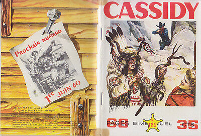 C1 CASSIDY # 182 1957  Imperia WESTERN