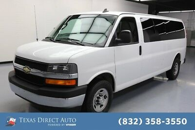 2017 Chevrolet Express LT Texas Direct Auto 2017 LT Used 4.8L V8 16V Automatic RWD Minivan/Van OnStar