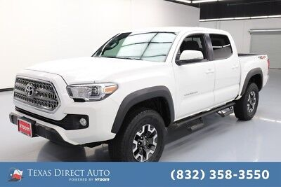 2017 Toyota Tacoma 4x4 TRD Off-Road 4dr Double Cab 5.0 ft SB 6A Texas Direct Auto 2017 4x4 TRD Off-Road 4dr Double Cab 5.0 ft SB 6A Used 3.5L V6