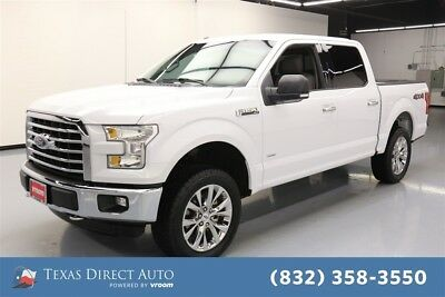 2016 Ford F-150 XLT 4dr SuperCrew 4WD Texas Direct Auto 2016 XLT 4dr SuperCrew 4WD Used Turbo 3.5L V6 24V Automatic