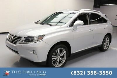 2015 Lexus RX  Texas Direct Auto 2015 Used 3.5L V6 24V Automatic FWD SUV Moonroof
