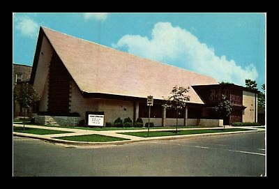 Dr Jim Stamps Us St Timothy Evangelical Lutheran Church Chicago Postcard