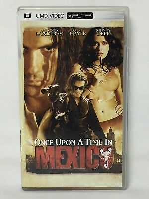 Once Upon a Time in Mexico (Sony PSP UMD Movie, 2005, Universal Media Disc)