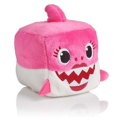 Pinkfong Authentic Mommy SHARK Sound Plush Doll CUBE toy - ENGLISH SONG NWT