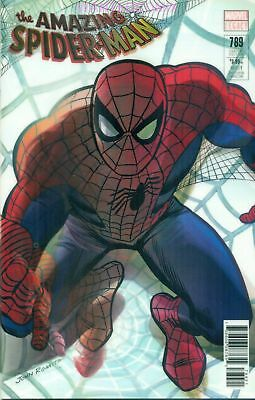 Amazing Spider-Man #789 Alex Ross 3D Lenticular Cover Marvel Comic Book New 1 Nm