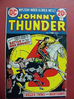 JOHNNY THUNDER #2 BRONZE AGE (6.0 FINE or BETTER) 1973 DC COMICS