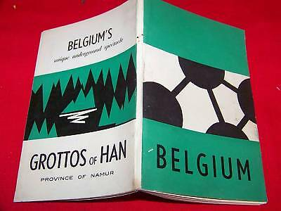 Pocket Guide ~ Belgium ~  1960