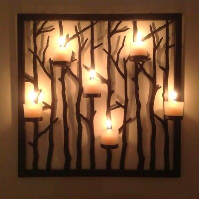 NEW - PARTYLITE P91241 WOODLAND LIGHT FLOOR STAND and SCONCE