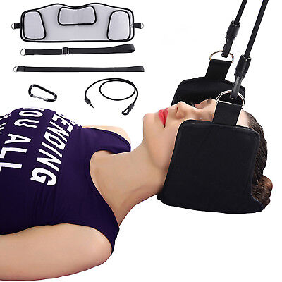 Head Neck Hammock For Pain Relief Cervical Traction Device Support Stretcher