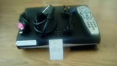SKY HD Box DRX890 -C WITH CONTROLLER+hdmi+power Cable +viewing Card+scart cable