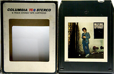 BILLY JOEL 52nd Street  8 TRACK TAPE  CARTRIDGE
