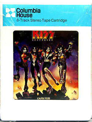KISS Destroyer  NEW SEALED 8 TRACK CARTRIDGE TAPE