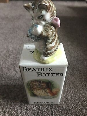 Beswick Beatrix Potter Figure Miss Moppet