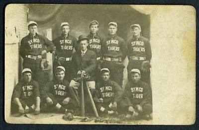 0312----c.1910 Symco Wisconsin baseball team - real photo postcard
