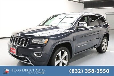 2015 Jeep Grand Cherokee Overland Texas Direct Auto 2015 Overland Used 3.6L V6 24V Automatic 4WD SUV