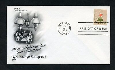 United States 1978  Artcraft $2 Candelstick First  Day Cover