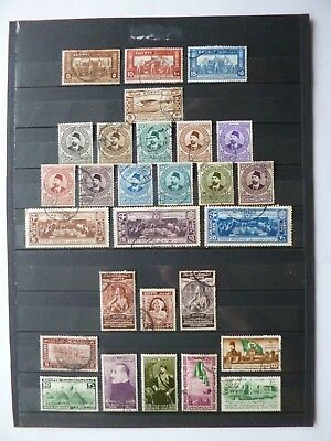 EGYPT :- 1931 - 1947 : Used Commemorative selection.