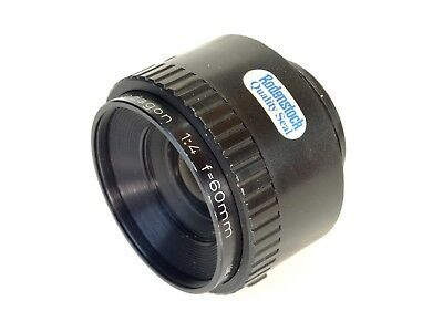Rodenstock Rodagon 60mm f4 Enlarging Lens - Cleaned and Tested - Nice!