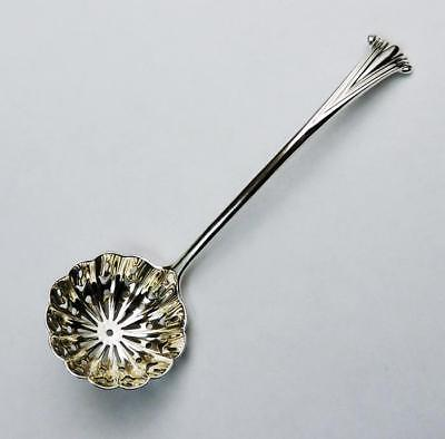 STERLING SILVER SUGAR SIFTER LADLE London 1900