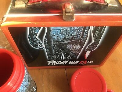 FRIDAY THE 13th JASON  LUNCHBOX.