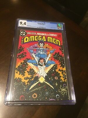 Omega Men #3 Cgc 9.4 Nm   1St Appearance Of Lobo - New Case