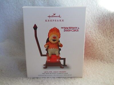 Hallmark 2018 He's Mr. Heat Miser! The Year Without A Santa Claus New