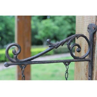 Cast Iron Vintage Wall Bracket/Welcome Sign