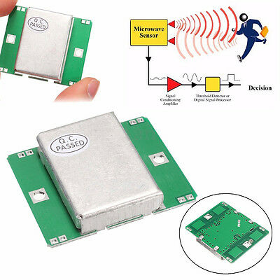 NEW HB100 Microwave Motion Sensor 10.525GHz Doppler Radar Detector for Arduino #
