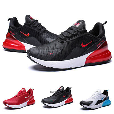 Men's Air Max 270 Flyknit Running Shoes Retro Casual Sport Shoes Jogging Sneaker