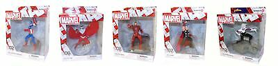 Schleich Marvel superhero different characters, Iron Man, Thor, Captain America