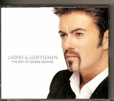 GEORGE MICHAEL Ladies Gentlemen DOUBLE CD FAT BOX QUEEN ELTON JOHN FREE WW SHIP