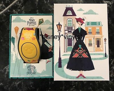Disney Parks Mary Poppins Returns LE 1500 Magicband Magic Band NEW LINKABLE