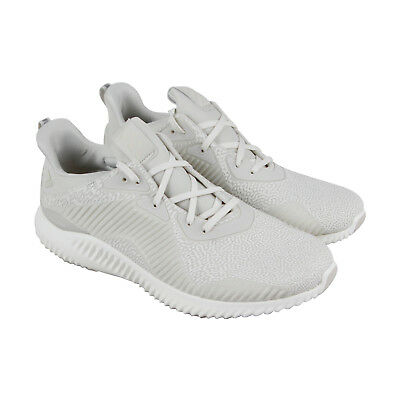 best website 95854 69f2f Adidas Alphabounce Hpc Ams Mens White Synthetic Athletic Running Shoes