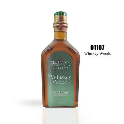Clubman Reserve Whiskey Woods After Shave Lotion 6oz #01107