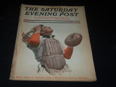 1910 October 1 Saturday Evening Post Magazine - Full Page Color Ads - O10928