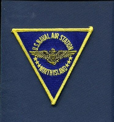 NAS NAVAL AIR STATION NORTH ISLAND CA  US NAVY Base Squadron Jacket Patch