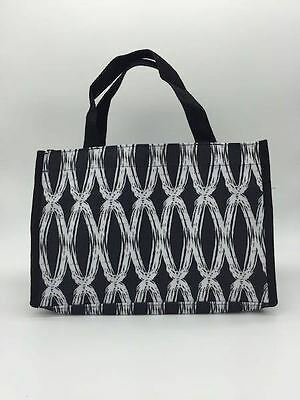 Thirty one Bag mini tote 31 all in one organizer gift retired black links bag dd