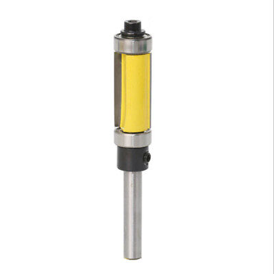 Cutter Router Bit Milling Routing Rounded Curvy Shank Double Bearing Pattern