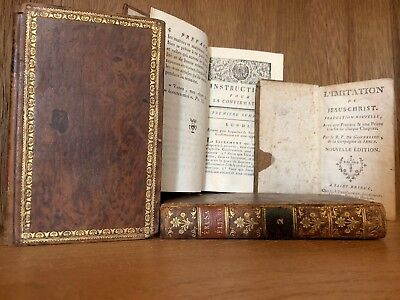 JOB LOT OF OLD BOOKS 1700-1800s