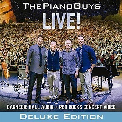 THE PIANO GUYS Live! Deluxe Edition CD/DVD BRAND NEW NTSC Region 0 ALL