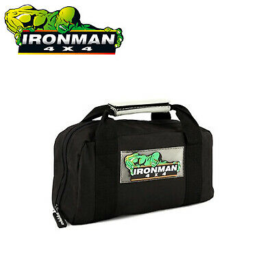 Ironman 4Wd 4X4 Recovery Kit Tool Tools Bag For Chain Shackles Rescue Small