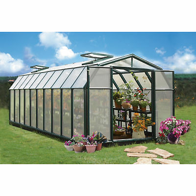 Rion Hobby Gardner 2 Twin-Wall Greenhouse - 8ft. x 20ft., Model# HG7120