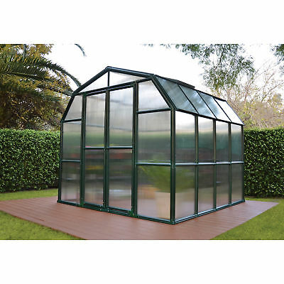 Grand Gardener 2 Twin Wall Greenhouse - 8ft.W x 8ft.L, Model# HG7208