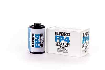 Ilford FP4 Plus Black and White Negative Film (35mm Roll Film, 36 Expo