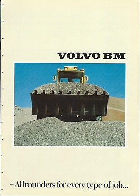 Equipment Brochure - Volvo BM - Allrounder Wheel Loader Overview - c1977 (E4830)