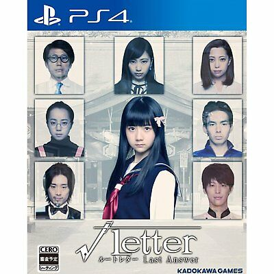 Kadokawa Games Root Letter Last Answer  SONY PS4 PLAYSTATION 4 JAPANESE VERSION