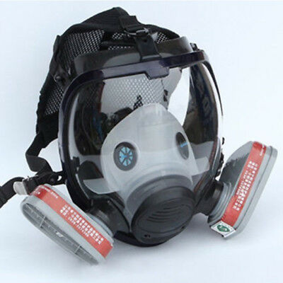 7 in 1 Facepiece Painting Respirator Spraying For 3M 6800 Full Face Gas Mask