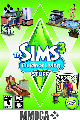 The Sims 3 Outdoor Living Stuff Expansion Pack - PC Origin Digital Key - US & CA